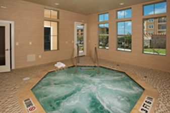 Hot Tub at Listing #154074