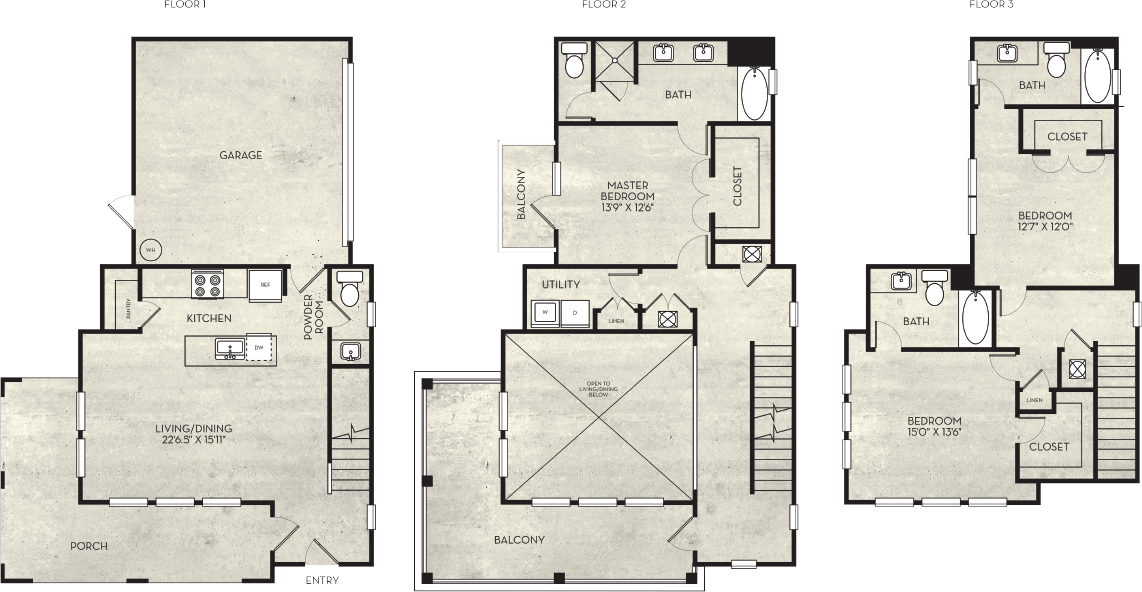 2,174 sq. ft. floor plan