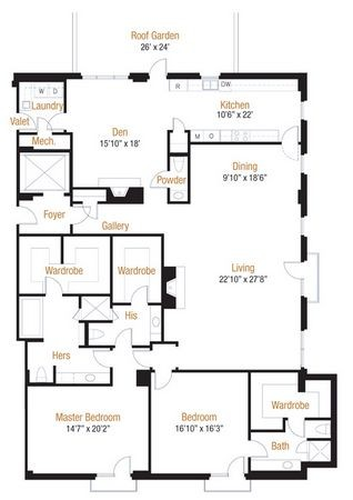 3,252 sq. ft. 32 floor plan