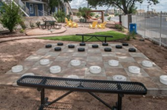 Outdoor Chess/Checkers at Listing #140324