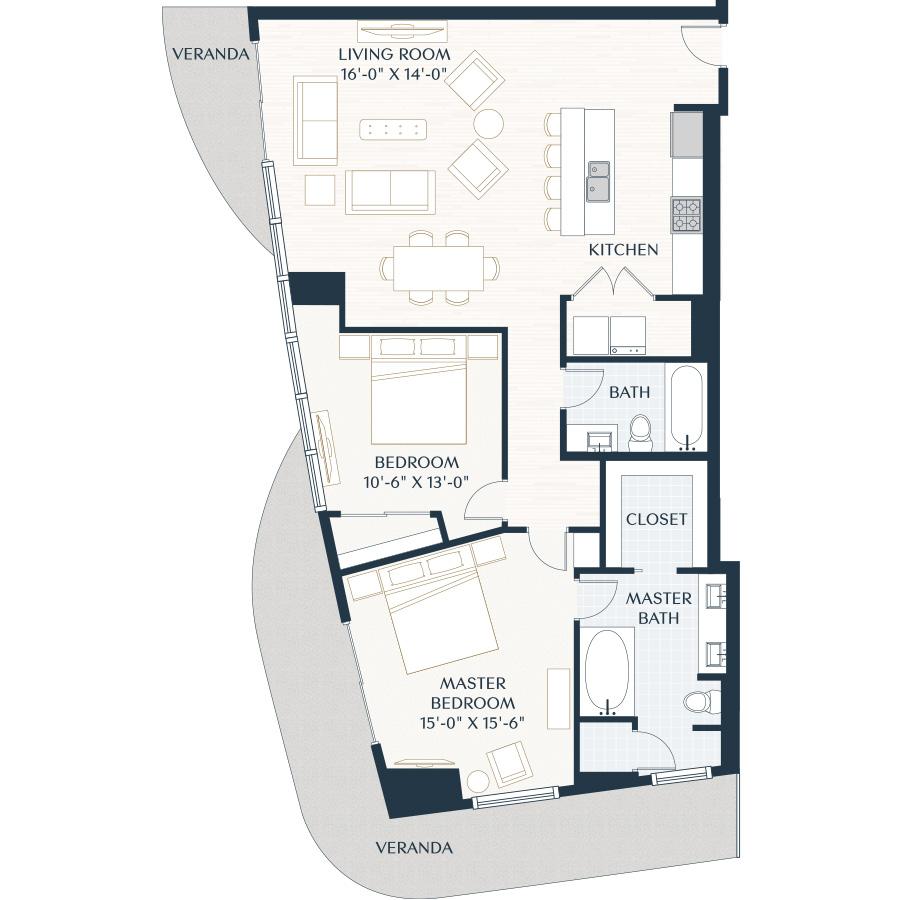1,472 sq. ft. B4 floor plan