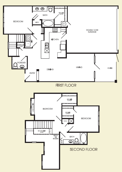 1,619 sq. ft. Waldorf floor plan