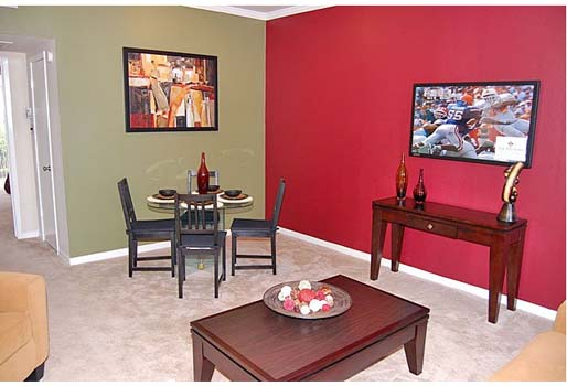 Living/Dining at Listing #138344
