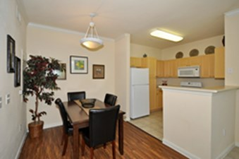 Dining/Kitchen at Listing #144165