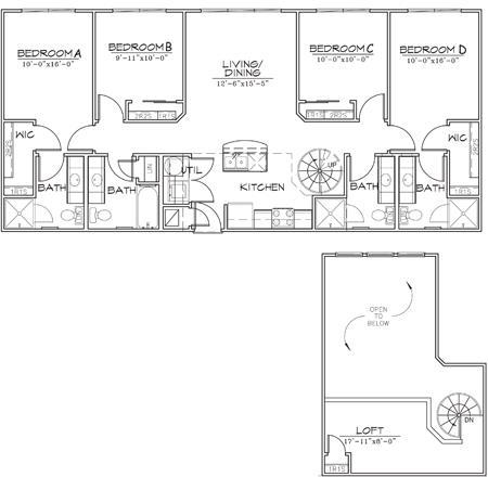 1,488 sq. ft. floor plan