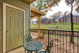 Patio at Listing #141362