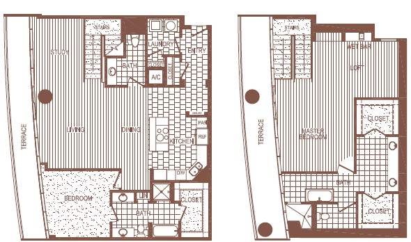 2,878 sq. ft. PH 10 floor plan