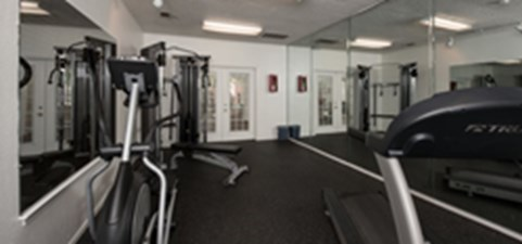 fitness center at Listing #136244