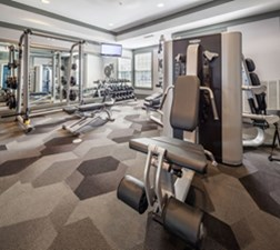 Fitness Center at Listing #138184