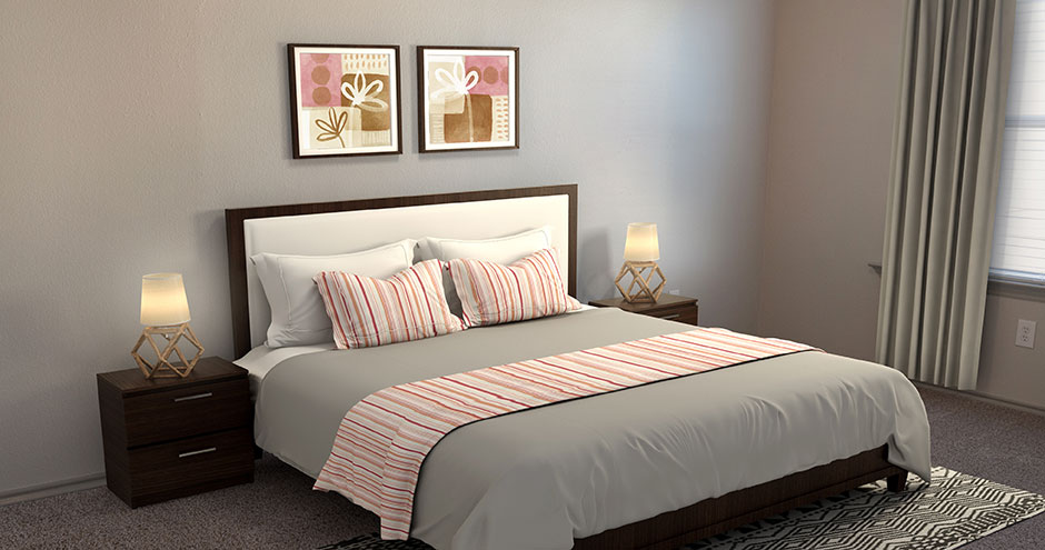 Bedroom at Listing #147788