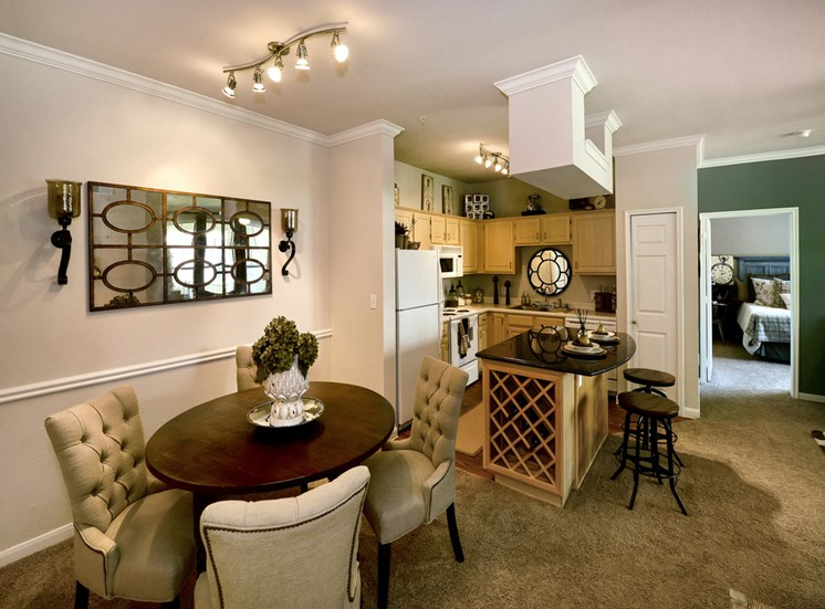 Dining/Kitchen at Listing #138086