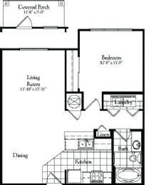 749 sq. ft. floor plan