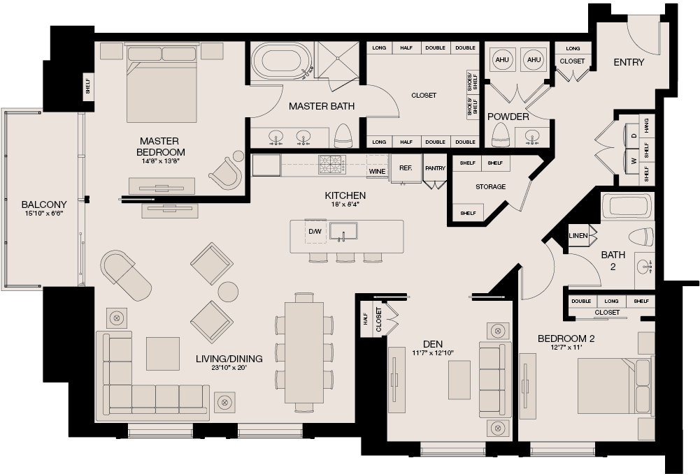 1,976 sq. ft. floor plan