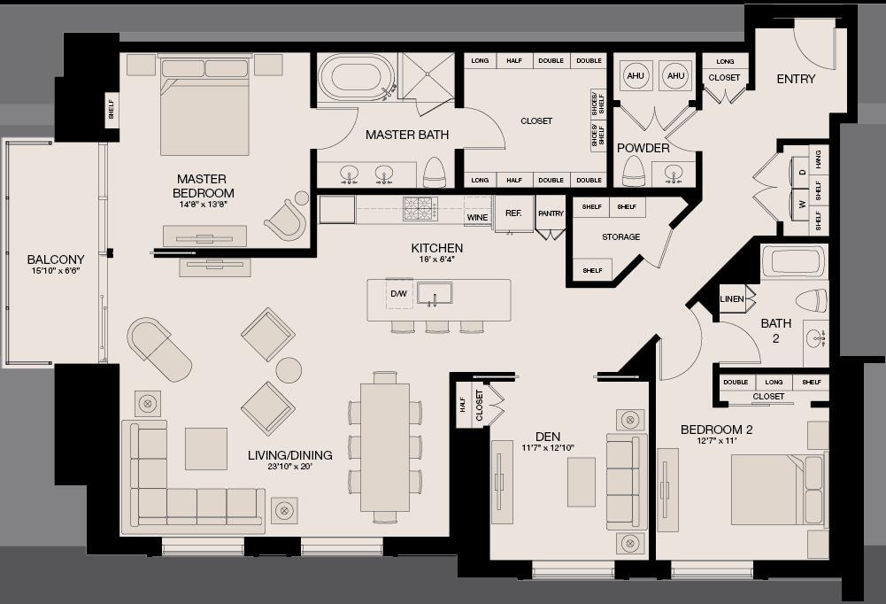 1,976 sq. ft. floor plan