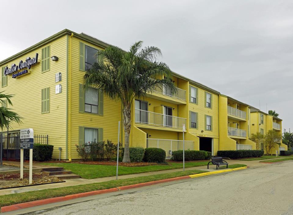 Carelton Courtyard Apartments Galveston TX
