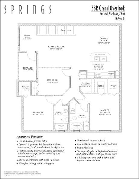 1,479 sq. ft. Grand Over floor plan