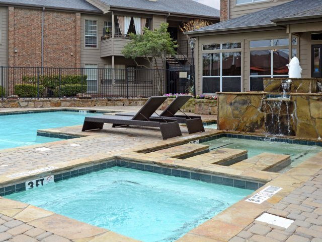 Hot Tub at Listing #135892