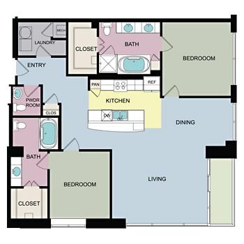 1,679 sq. ft. I floor plan