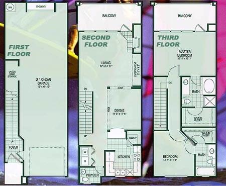 1,679 sq. ft. B4 Regatta floor plan