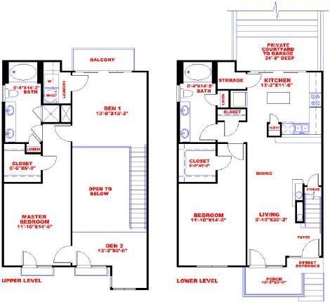 1,650 sq. ft. D2C floor plan