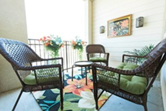 Patio at Listing #150328