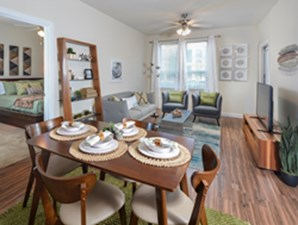 Living/Dining at Listing #291863