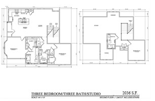 2,036 sq. ft. TH D floor plan