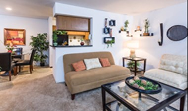Living/Dining at Listing #141276