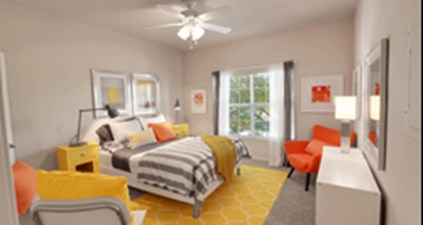 Bedroom at Listing #138038