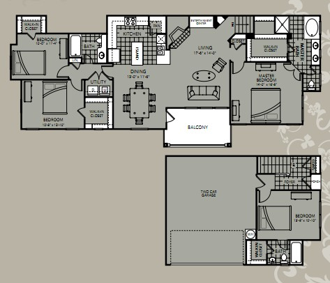 1,910 sq. ft. Equinox floor plan