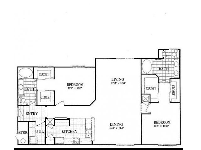 1,479 sq. ft. B9 floor plan
