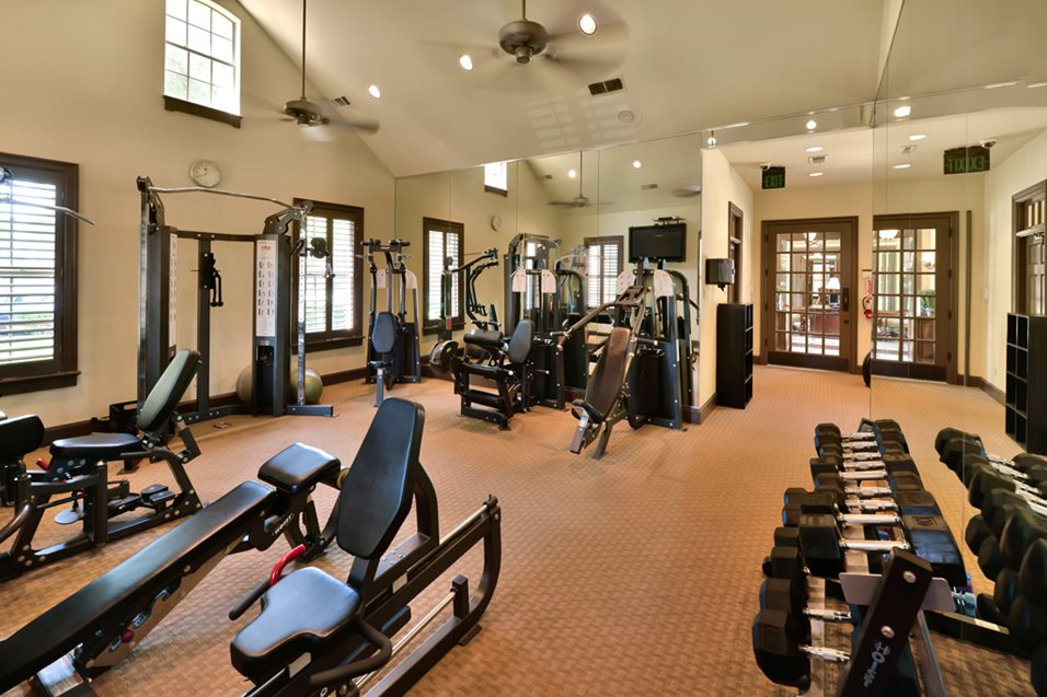 Fitness Center at Listing #136232