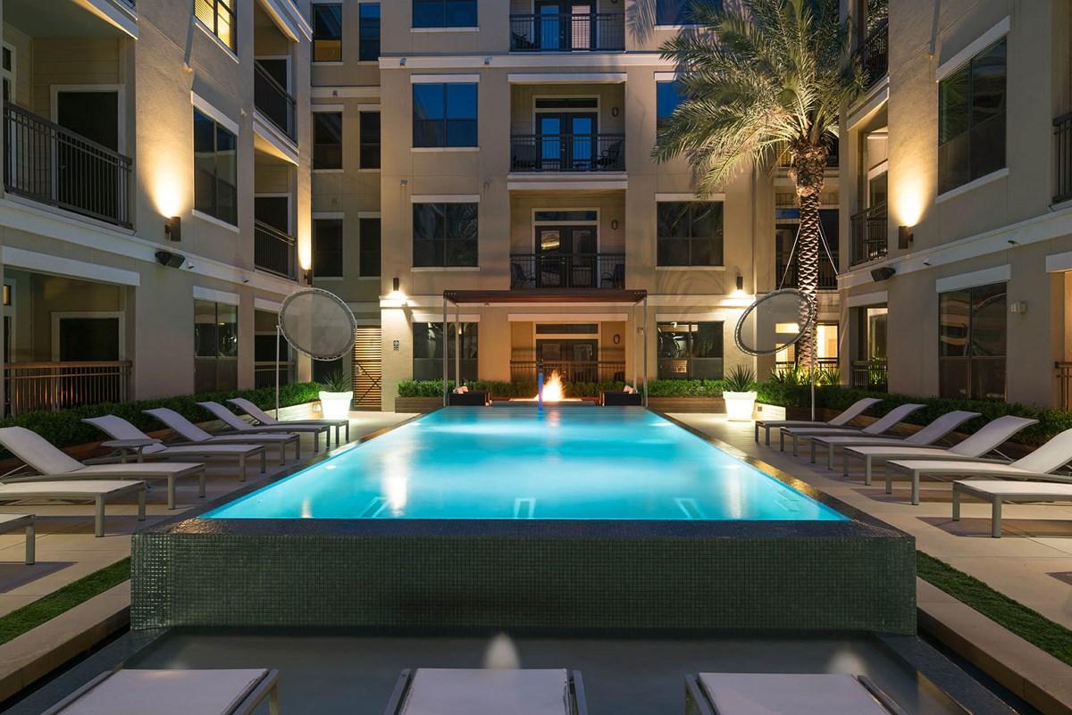 Pool at Listing #151559