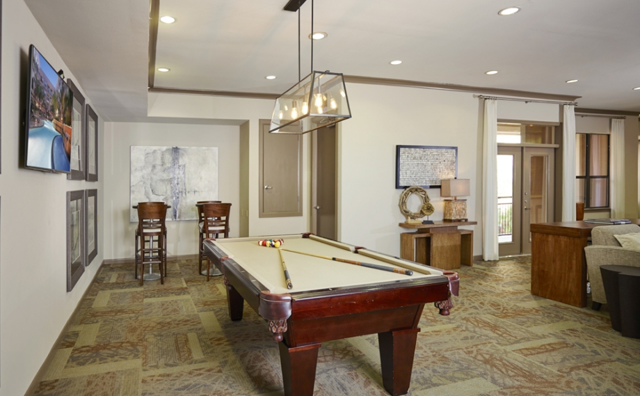 Gameroom at Listing #144890