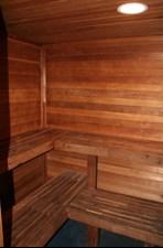 Sauna at Listing #135943