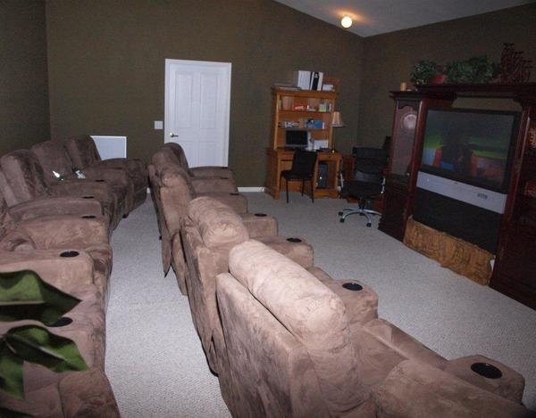 Movie Room at Listing #144552