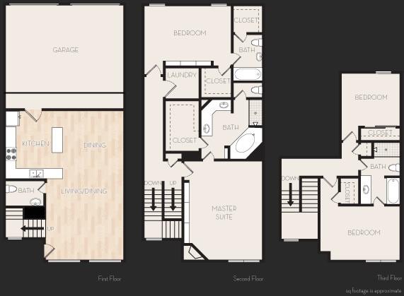 2,427 sq. ft. Q2T floor plan