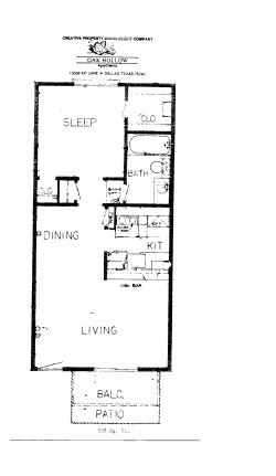 530 sq. ft. Phase 2 floor plan