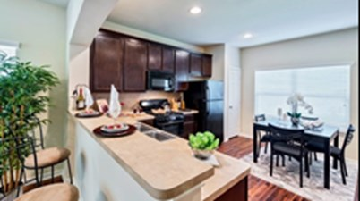 Dining/Kitchen at Listing #337782