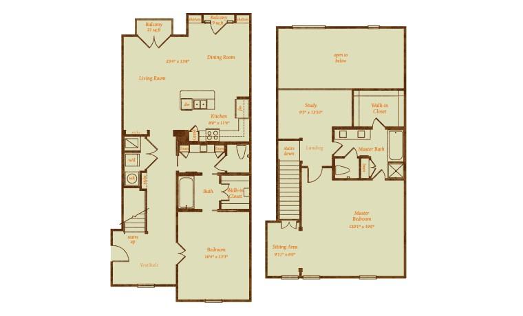 2,079 sq. ft. Cerritos floor plan