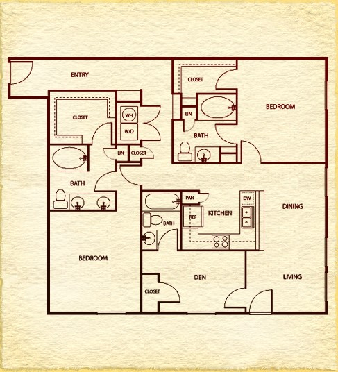 1,437 sq. ft. floor plan
