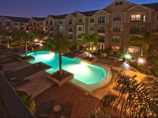 Pool at Listing #144923