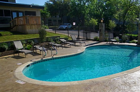 Pool at Listing #140254