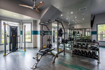 Fitness Room at Listing #150530