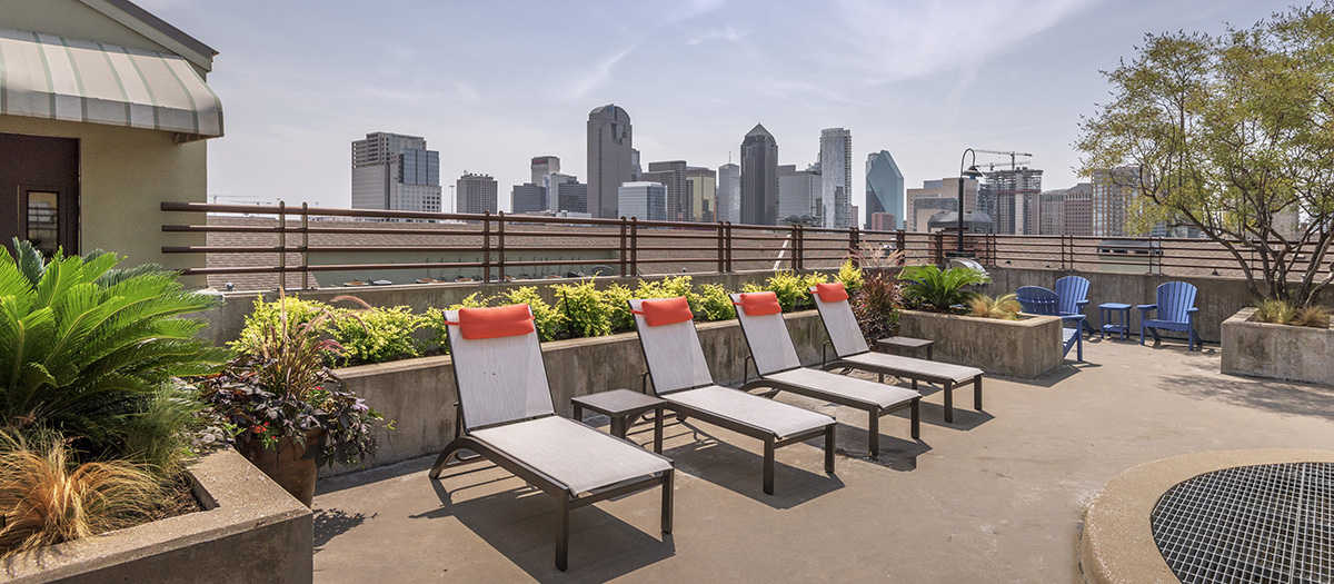 Rooftop Deck at Listing #137825