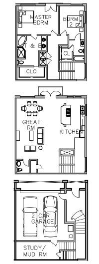 2,355 sq. ft. floor plan
