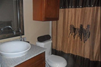 Bathroom at Listing #136366
