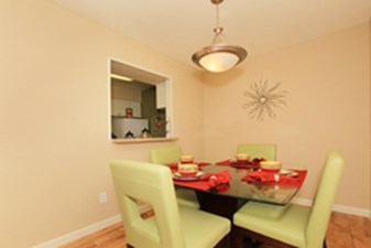 Dining at Listing #138343