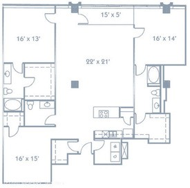 1,986 sq. ft. B9 floor plan