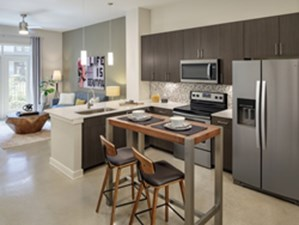 Living/Kitchen at Listing #278769